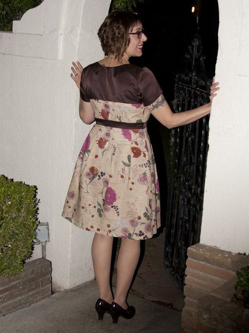 Sew L A Colette S Macaron Dress And A Quick Skirt Change