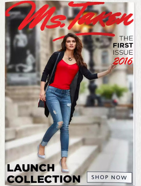 Kriti Sanon Photoshoot for the Ms.Taken Clothing