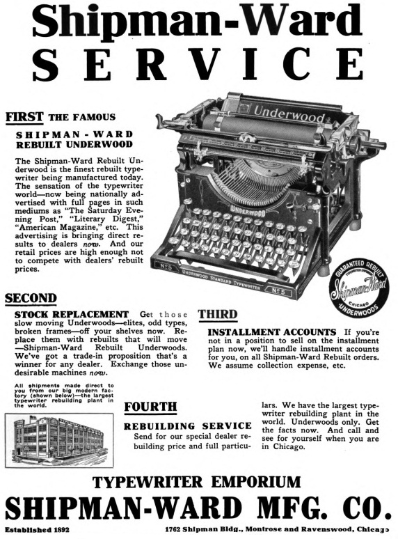 oz.Typewriter: To the Victors the Spoils? Typewriters in