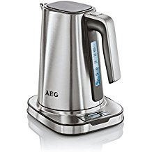 AEG EWA7800 Hervidor de agua con display digital, acero inoxidable