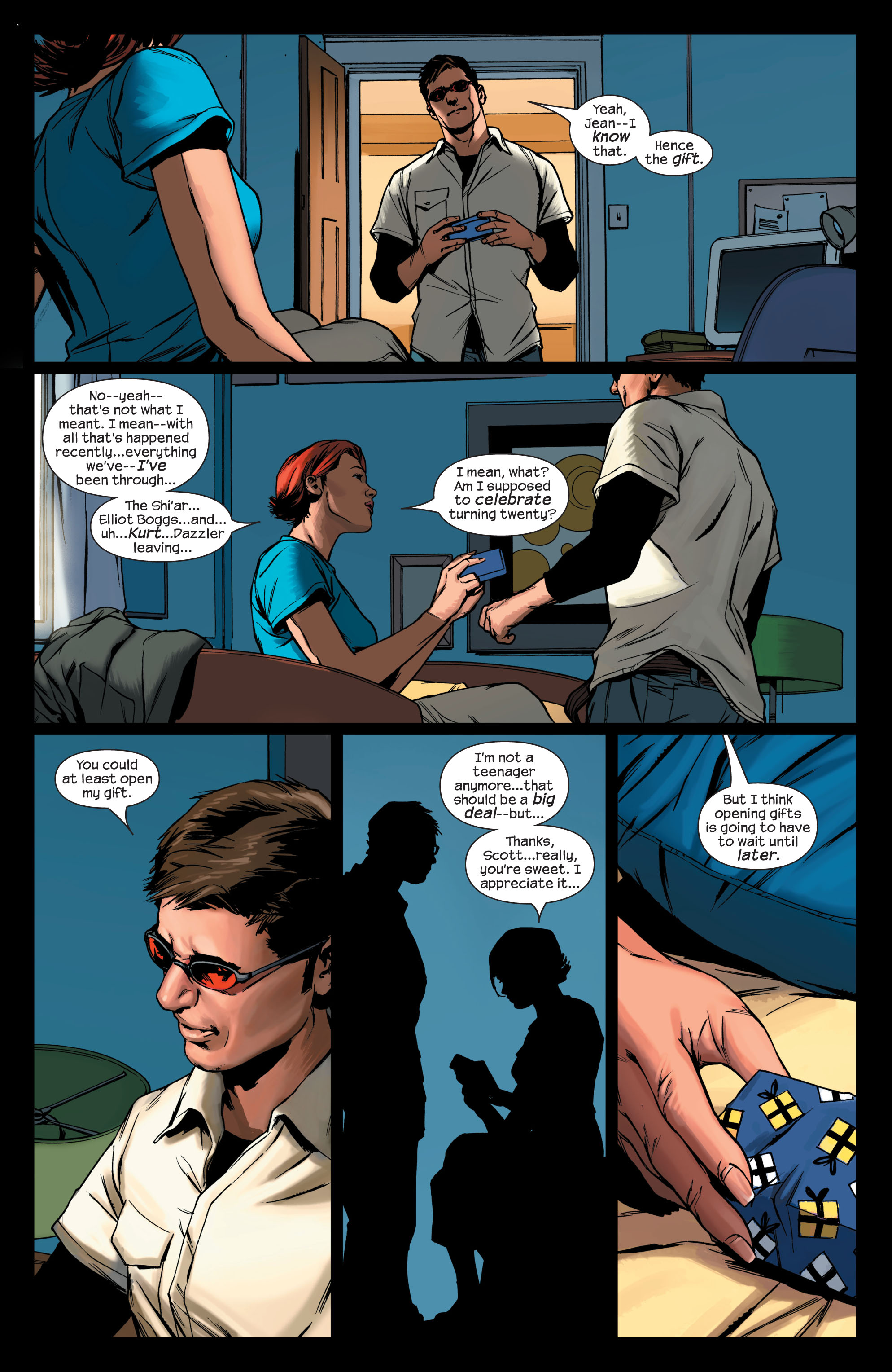 Read online Ultimate X-Men comic -  Issue #75 - 3