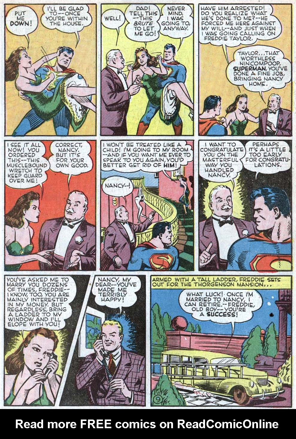 Read online Action Comics (1938) comic -  Issue #40 - 11