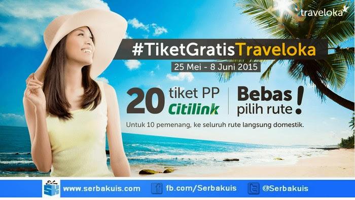 Kontes Blog Traveloka Berhadiah 20 Tiket Citilink (PP)