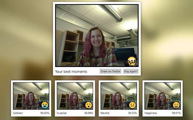 مايكروسوفت تطلق تطبيقًا لتقييم تعبيرات وجهك ضد الرموز التعبيرية