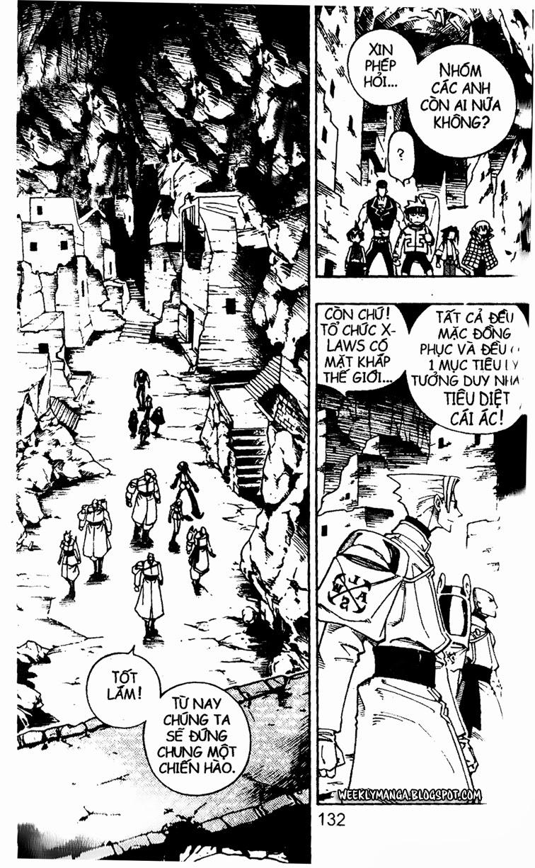 Shaman King [Vua pháp thuật] chap 104 trang 5