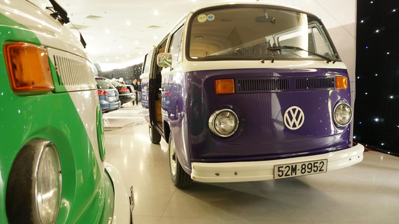 Xế cổ kinh điển một thời xuất hiện tại DAS Volkswagen Fest