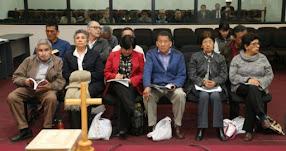 ABIMAEL GUZMÁN: Sala lo expulsa de audiencia a cabecilla de Sendero Luminoso por no guardar compostura