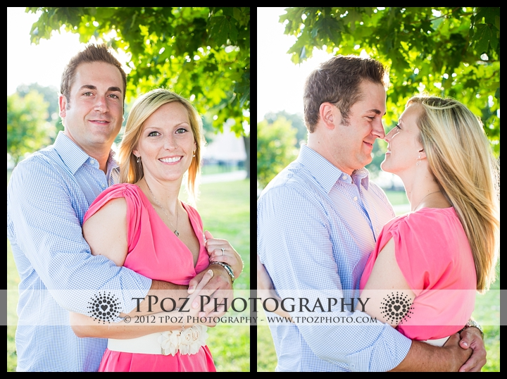Federal Hill Park Engagement Session Photos
