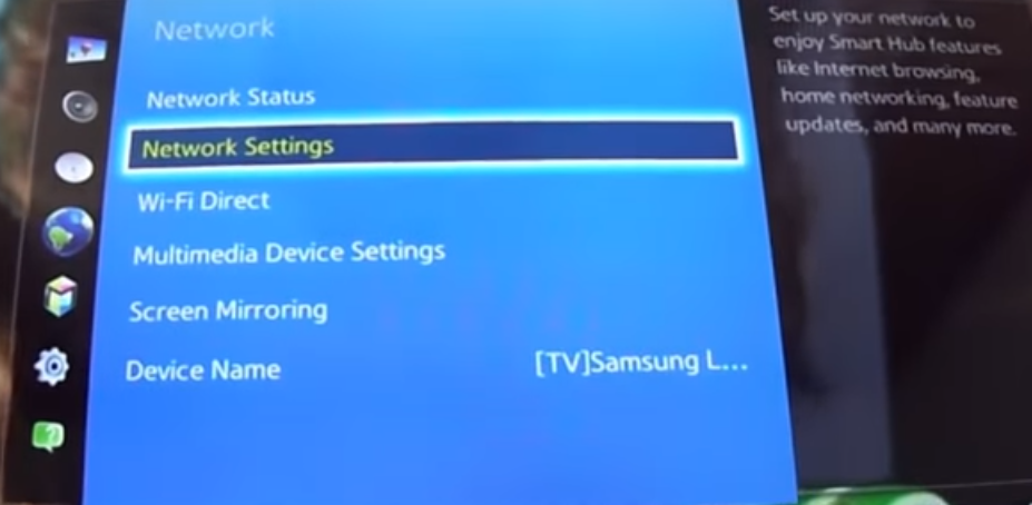 How to Connect Samsung Smart TV to Internet with Eethernet