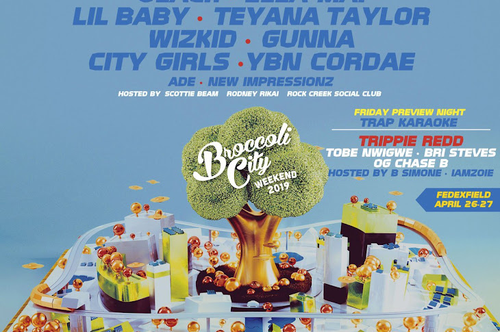 Broccoli City Festival 2019 Lineup Announced