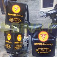 jual Tas delivery makanan Surabaya pizza go