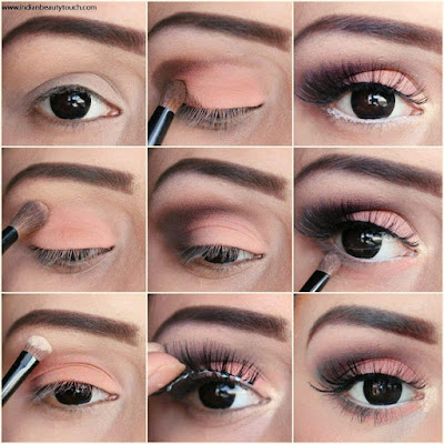 Elegant eye makeup for daytime events step by step