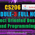 Module 3 Note-CS206 [JAVA] Object Oriented Design and Programming
