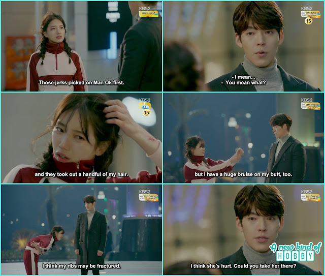 noh eul show wound to joon young after the fight - Uncontrollably Fond - Episode 13 Review