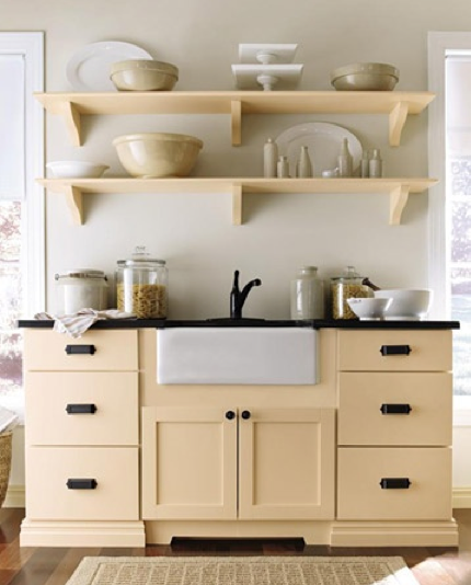 Martha Stewart Kitchen Cabinet Colors: Little Love Blue: Martha Stewart Kitchens