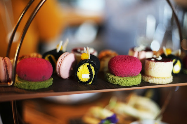 afternoon tea at Rofuto birmingham restaurant