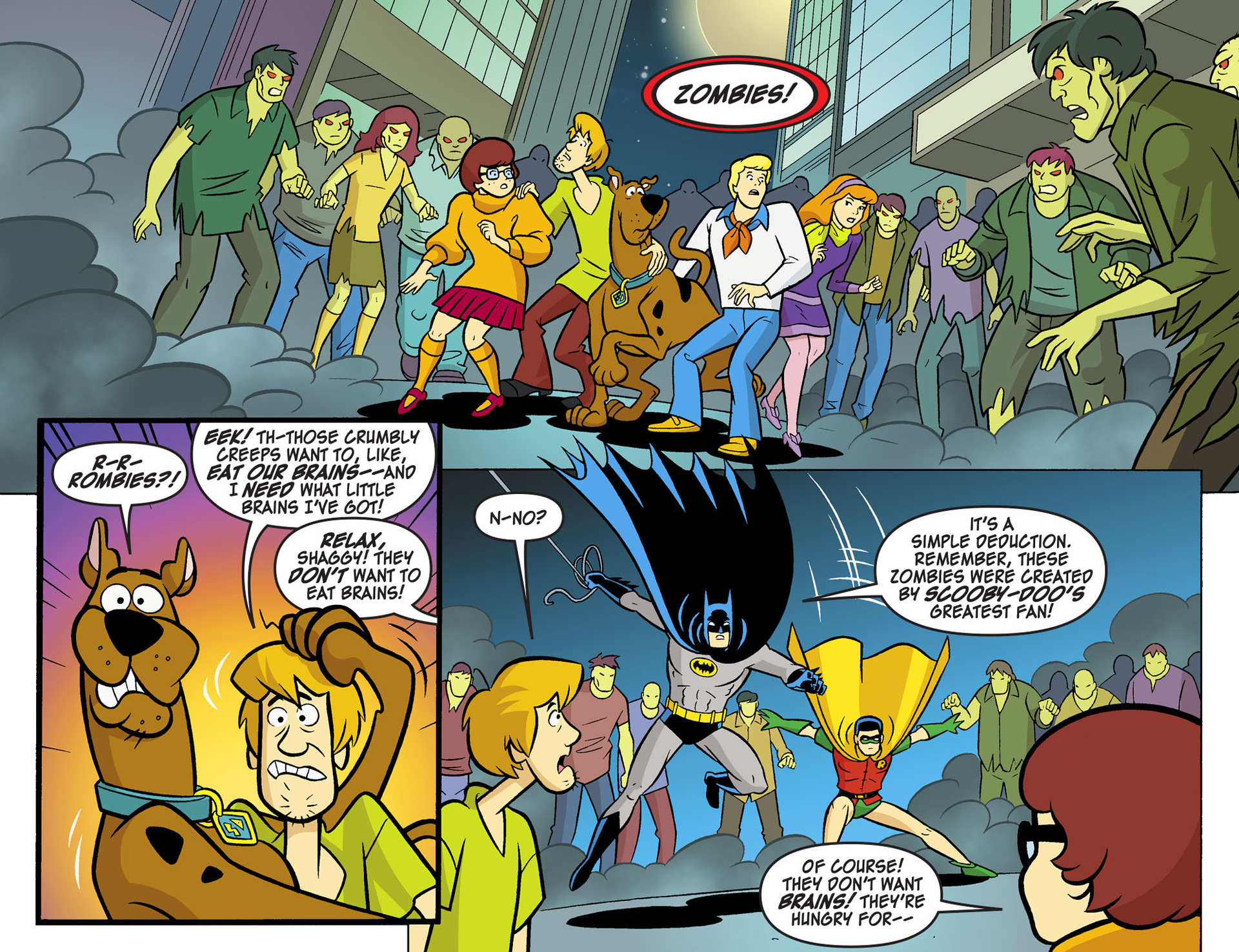 Read online Scooby-Doo! Team-Up comic -  Issue #6 - 11
