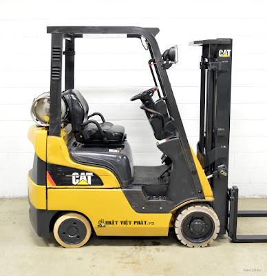 cho thuê xe nâng CAT các loại tại các khu công nghiệp ở bình dương