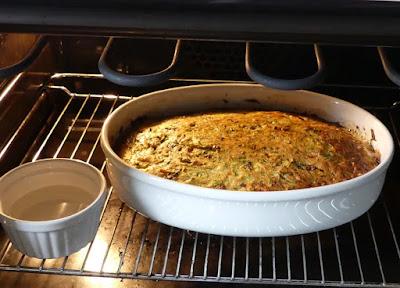 Zubereitung Zucchini-Flan