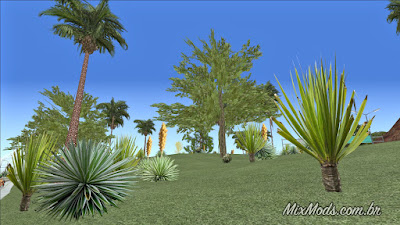 gta sa san andreas rosa project hd textures pack 4k vegetation