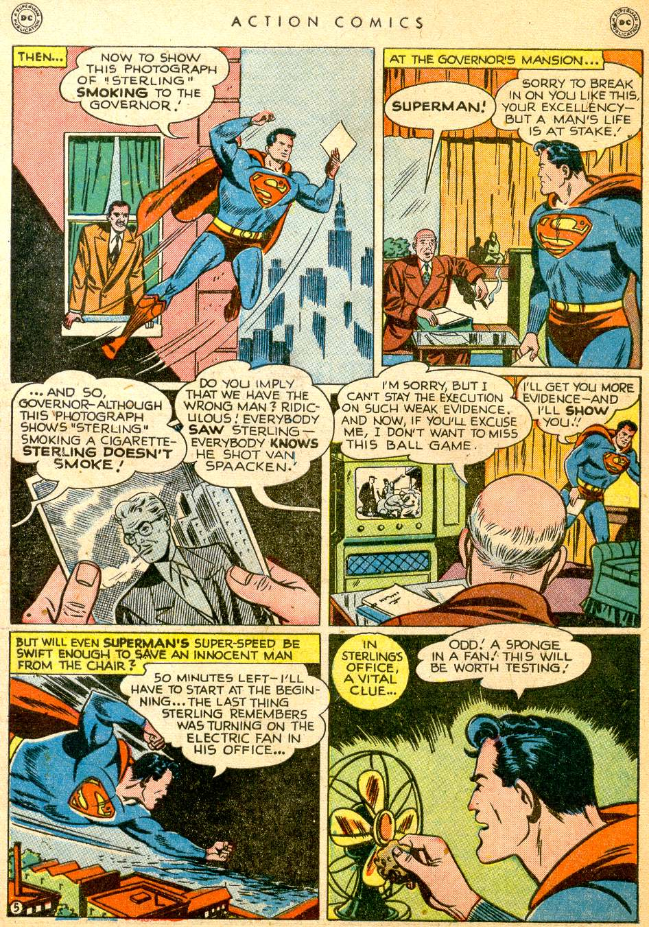Read online Action Comics (1938) comic -  Issue #126 - 7