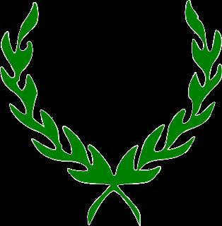 la corona trionfale verde di giulio cesare