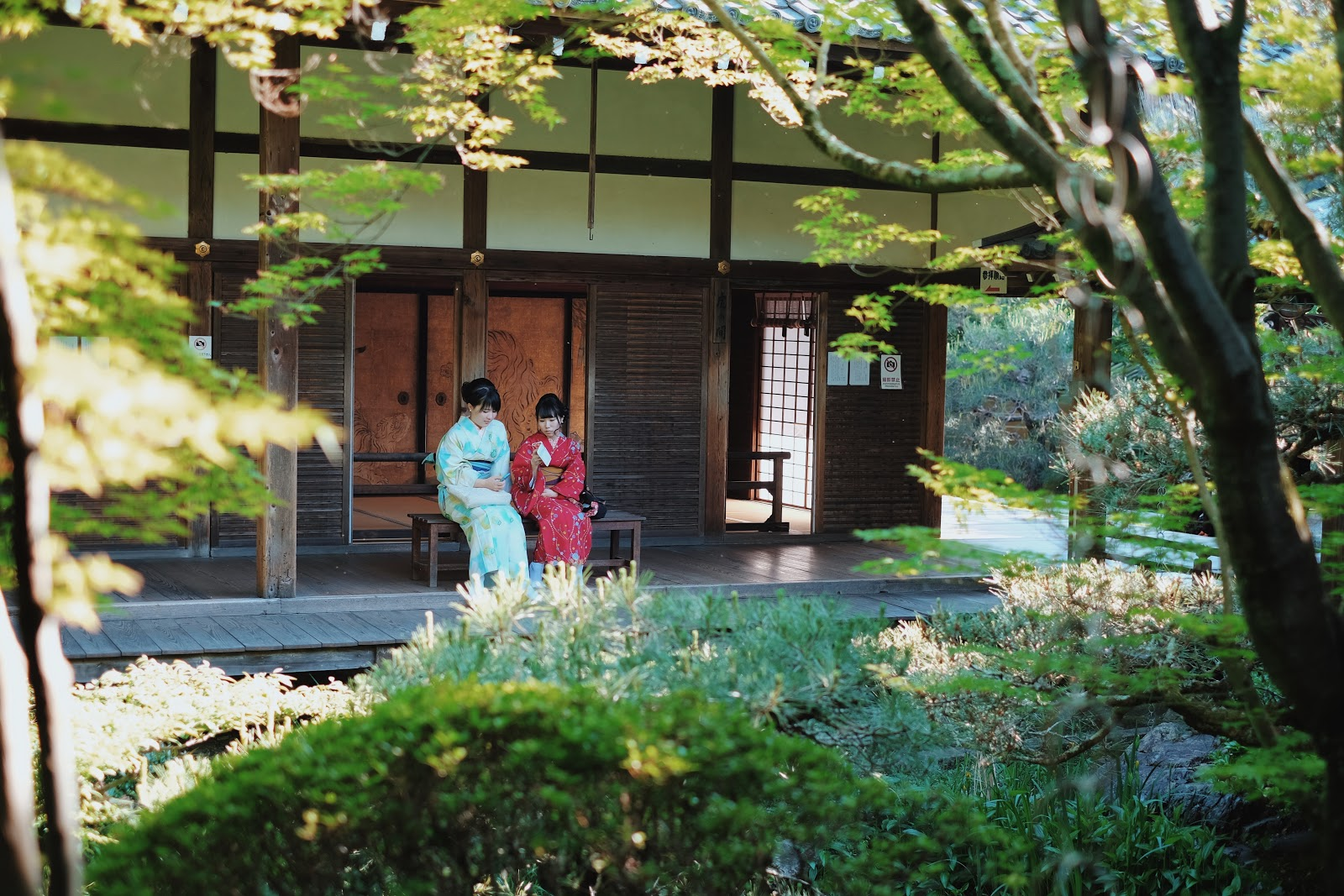 eikan-do shakado hall kyoto