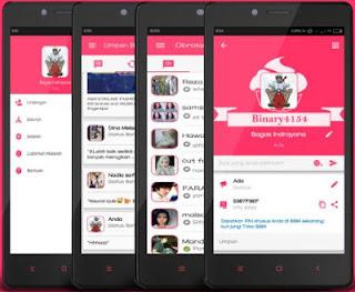 BBM MOD Pinky V3.0.0.18 Apk