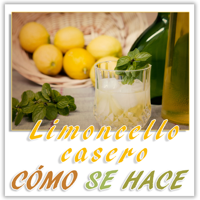 Autentico limoncello casero