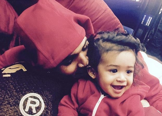 Chris Brown defends himself for buying designer shoes for daughter Royalty