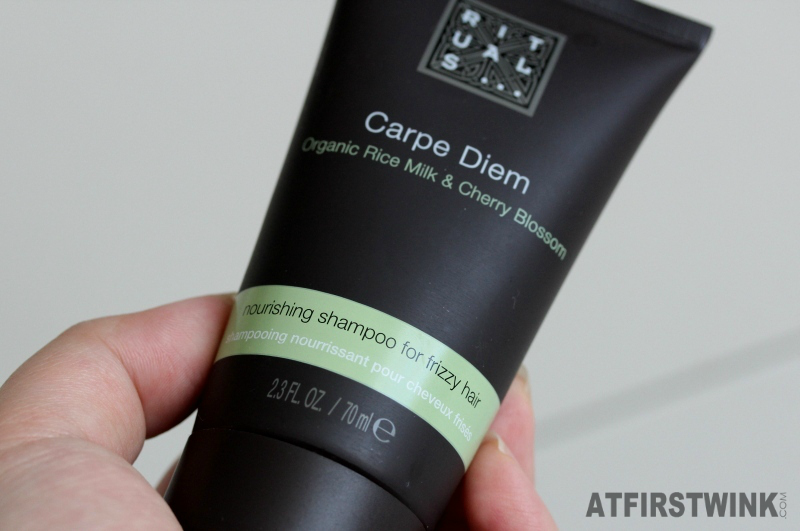 Rituals Carpe Diem - nourishing shampoo for frizzy hair 70 ml miniature