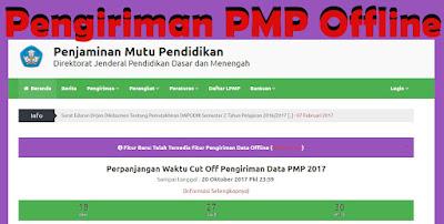 Panduan Kirim PMP Secara Offline Lengkap dengan Gambar