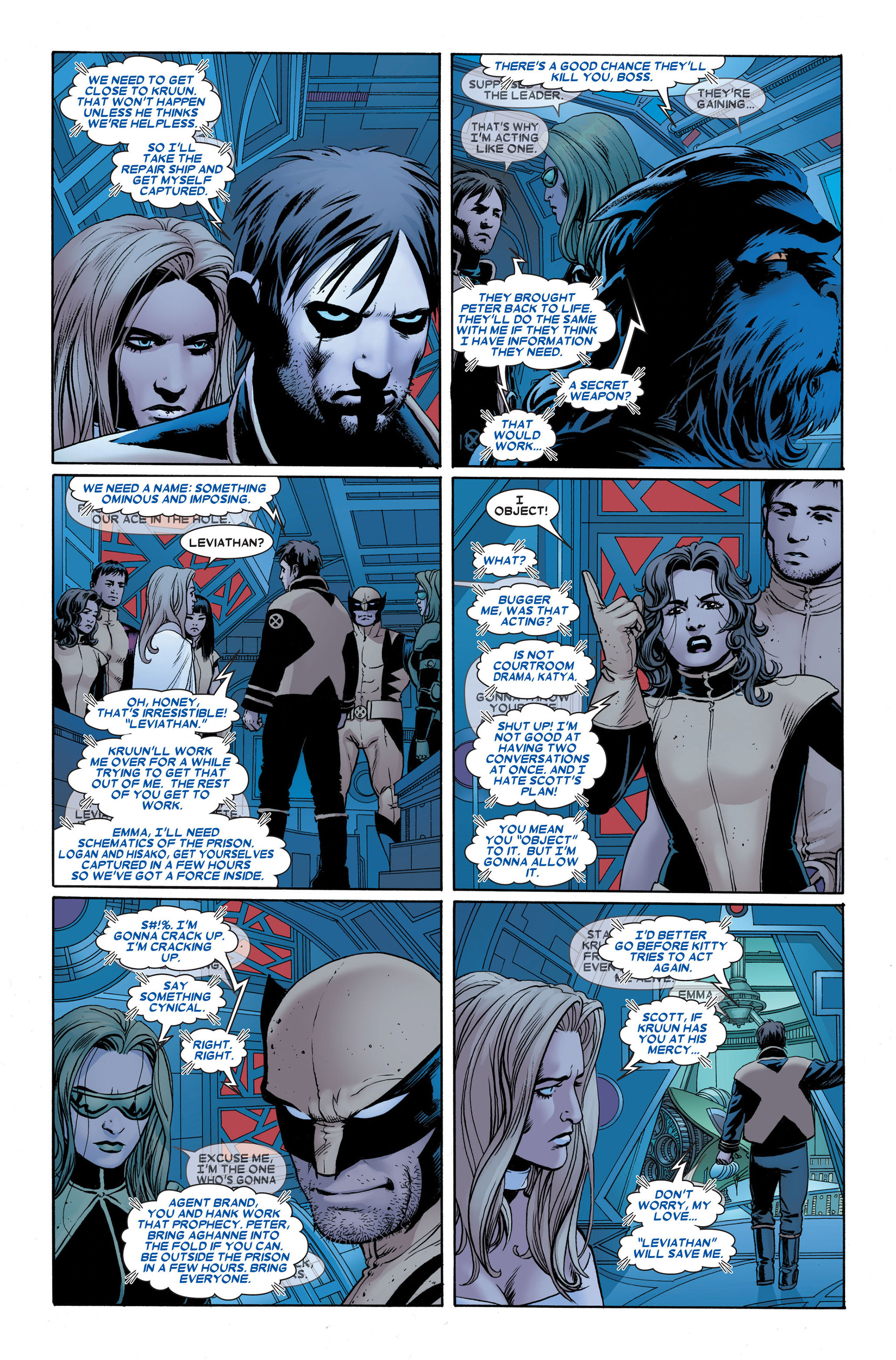 Read online Astonishing X-Men (2004) comic -  Issue #23 - 18
