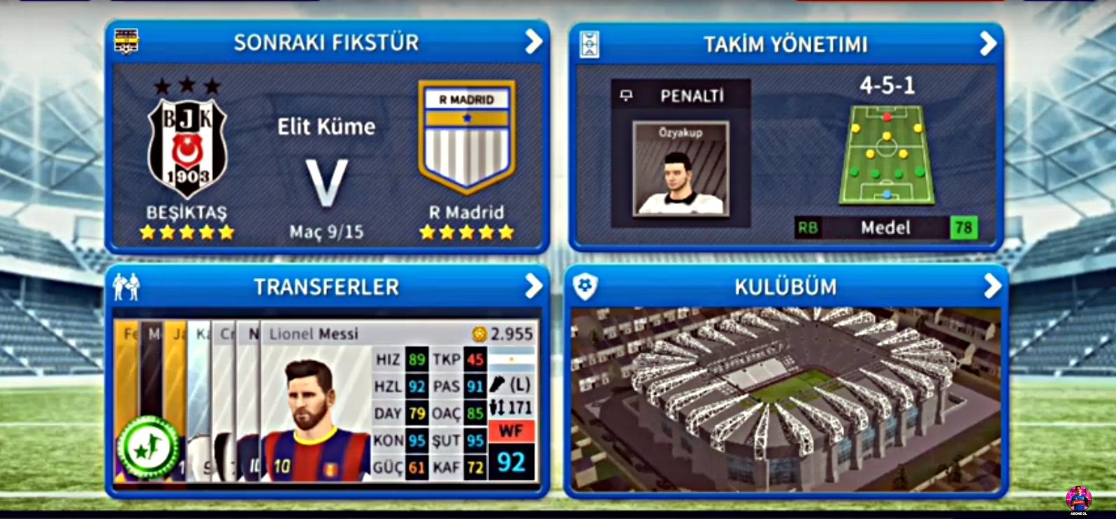 Dream League Soccer 2019 Beşiktaş Ara Transfer