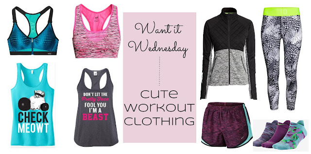 cute and practical workout clothes for women