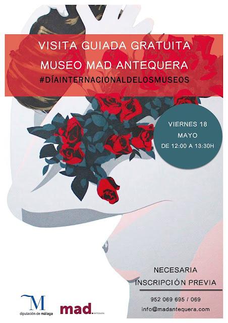 Visita guiada gratuita al MAD de Antequera