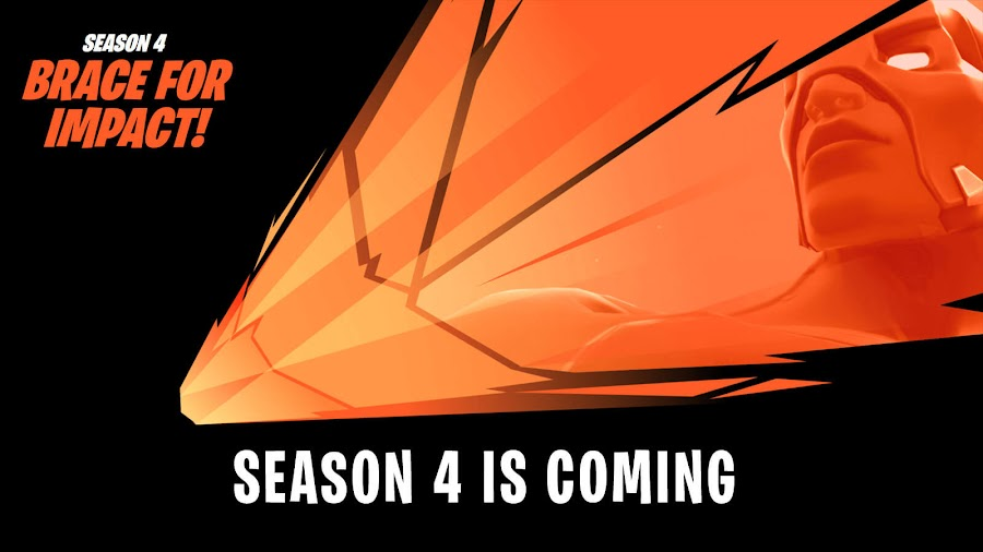 fortnite season 4 announcement