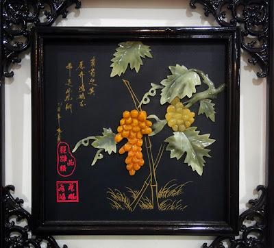 great jade art decoration