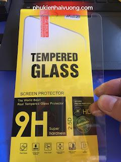 Dán kính cường lực điện thoại giá rẻ nhất bình dương