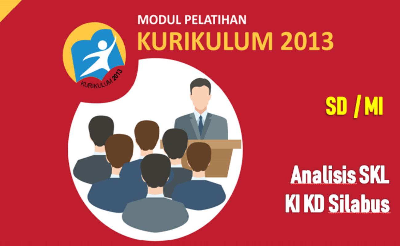 Modul Analisis SKL KI KD Silabus Kurikulum 2013 PDF