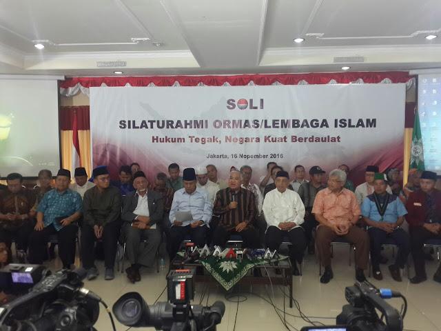 Ormas Islam Tetap Inginkan Kasus Ahok Selesai seperti Kasus Penistaan Lainnya : kabar Terhangat Hari Ini