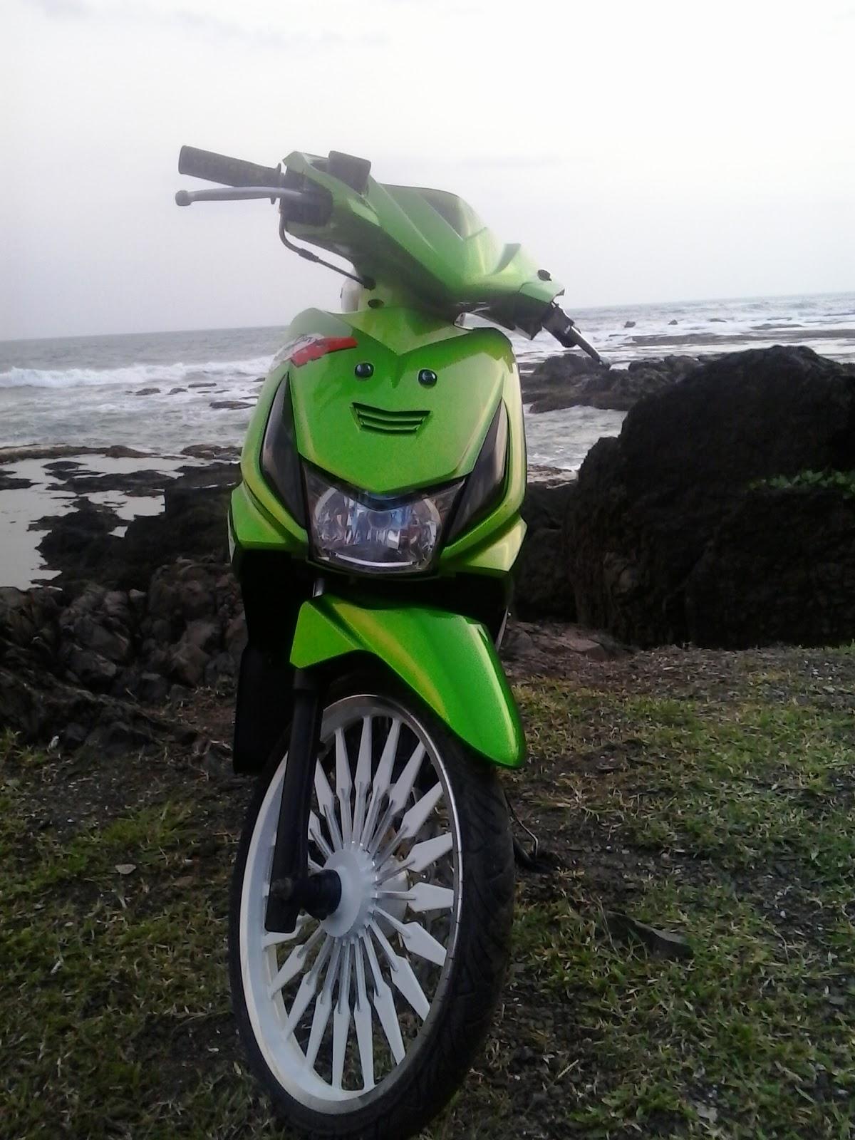Foto Modif Motor Beat Karbu