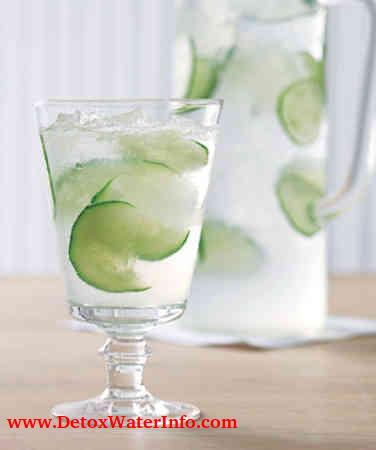 cucumber infused water for weight loss