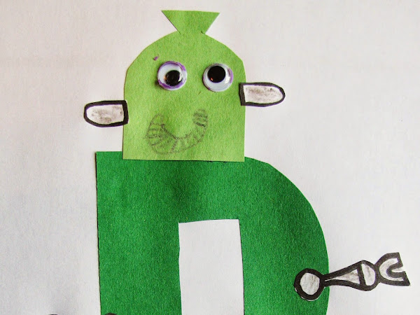 Letter of the Week: R - plus FREE R is for Robot Printable