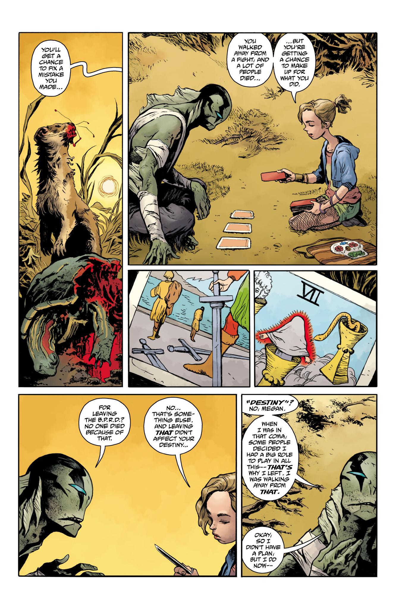 Read online Abe Sapien comic -  Issue #20 - 22