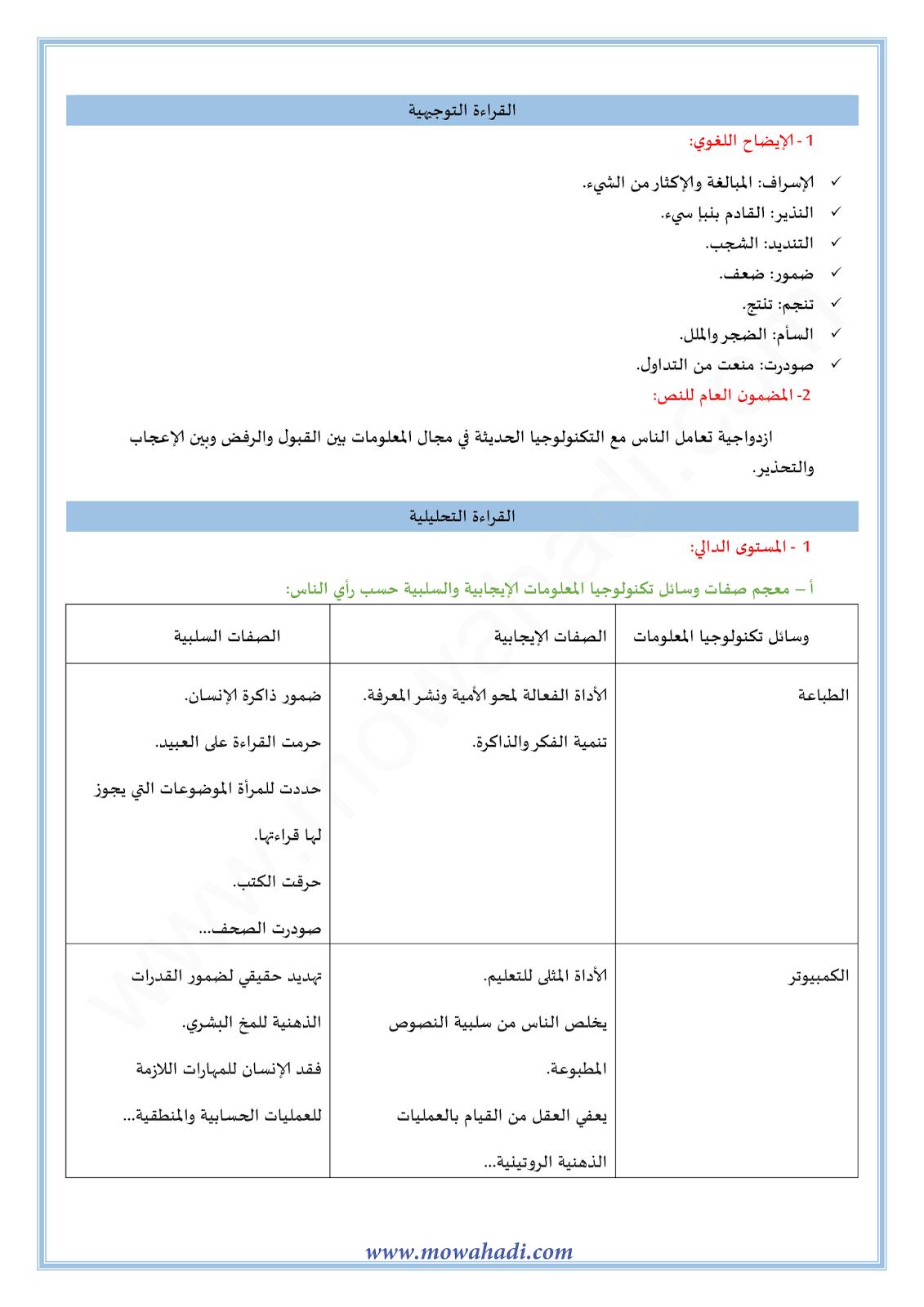 تكنولوجيا المعلومات1