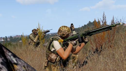 Arma3用MG3 GPMG MOD