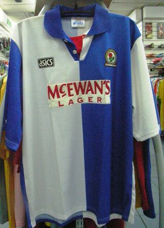 24 Seven Store  Blackburn Rovers 94-95 Original Jersey ac5155d96