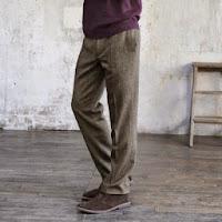 Pantaloni chevron barbati marimi 38 - 54