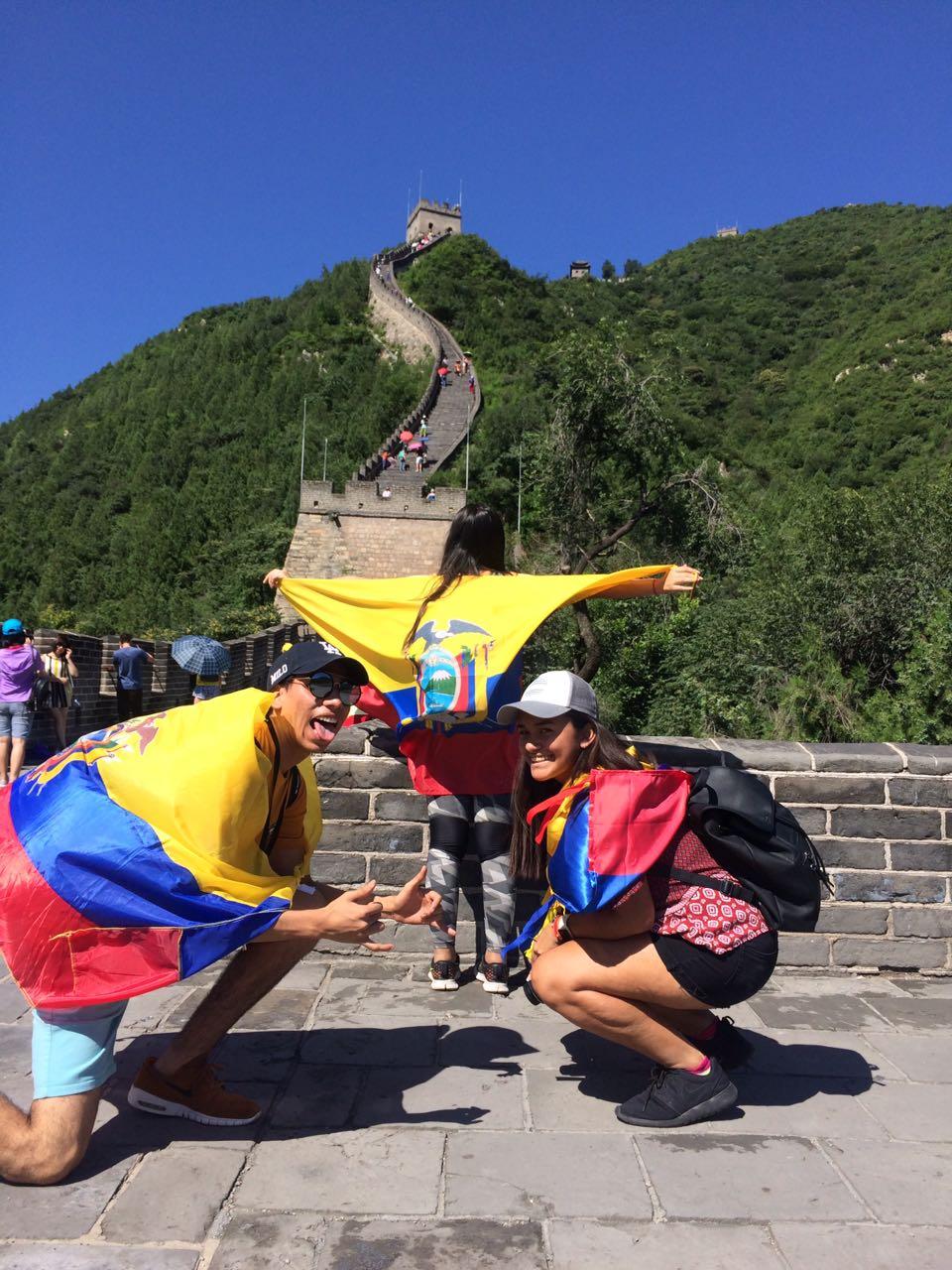 Campamento de China en la ciudad grasa
